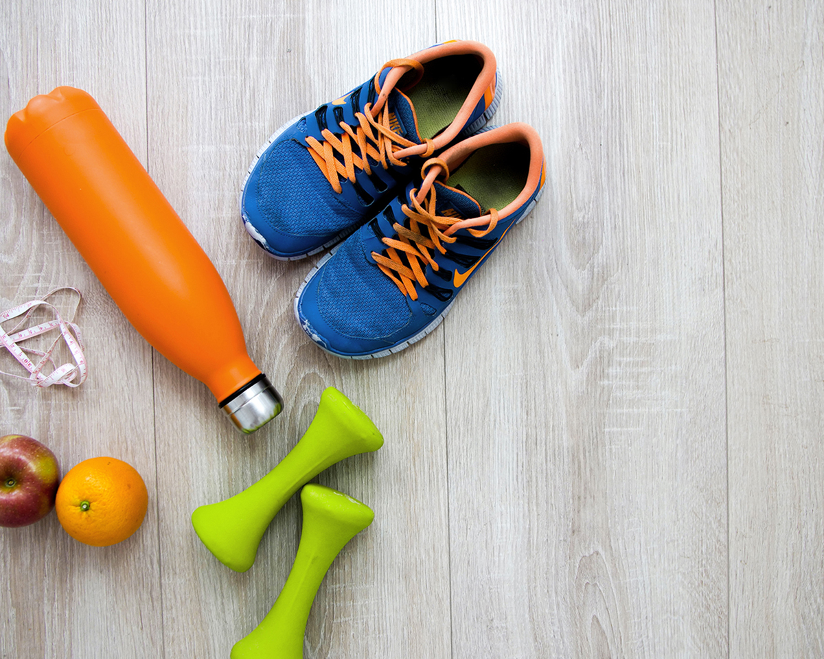 Balanced diet and exercise