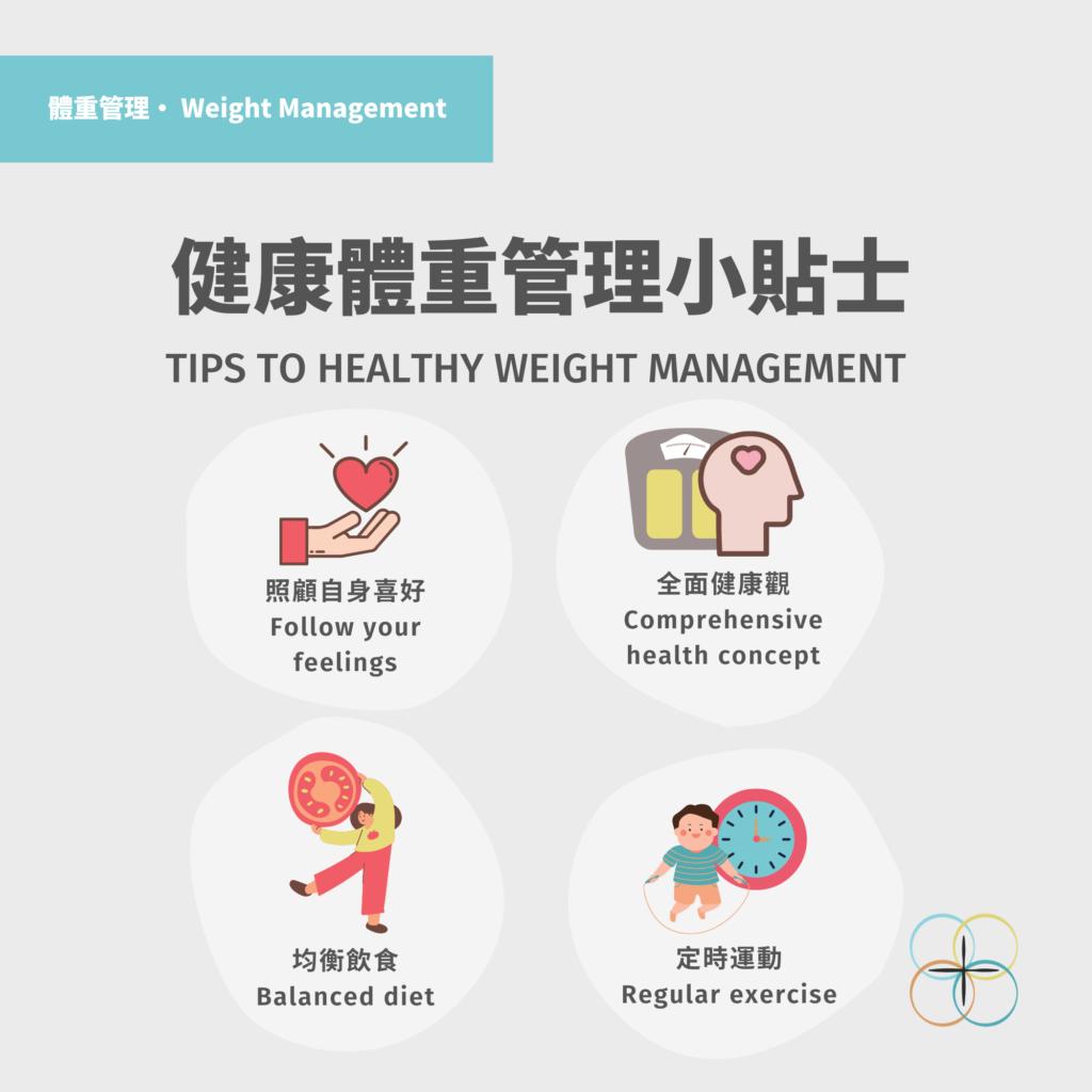 Healthy Weight Management Tips - Hong Kong